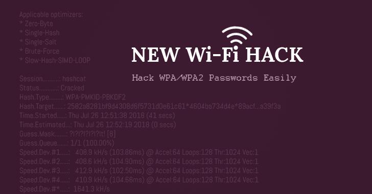 Bẻ khóa mật khẩu WiFi dễ dàng bằng cách sử dụng phương thức tấn công giao thức WPA/WPA2 mới