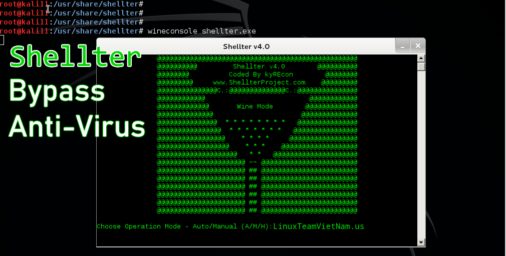 Shellter - Bypass Anti-Virus
