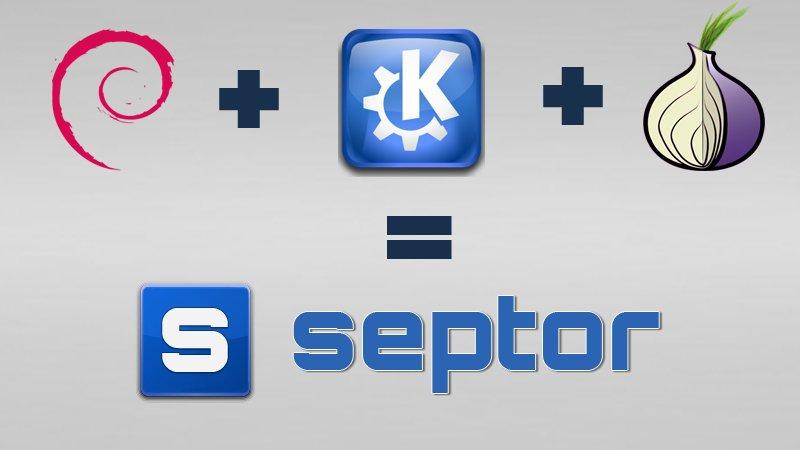 Septor – Hệ điều hành linux được cấu hình truy cập Internet ẩn danh
