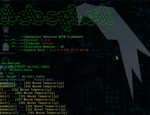 WebSploit: An Advanced Pentesting Framework written in Python 2