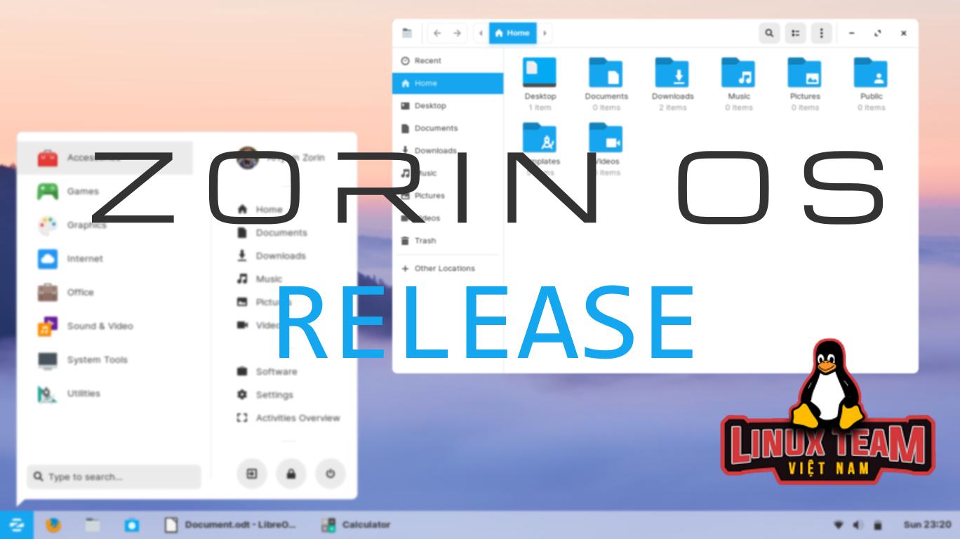 Hệ điều hành Zorin OS 15 đã phát hành: phiên bản Zorin tốt nhất từ trước đến nay