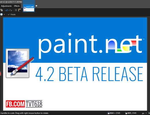 Paint.NET 4.2 Beta release