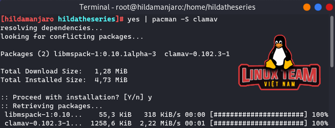 Câu lệnh Linux hữu ích